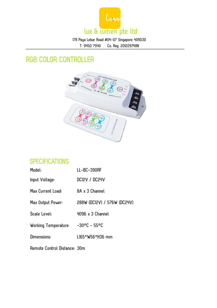 thumbnail of RGB Color Controller