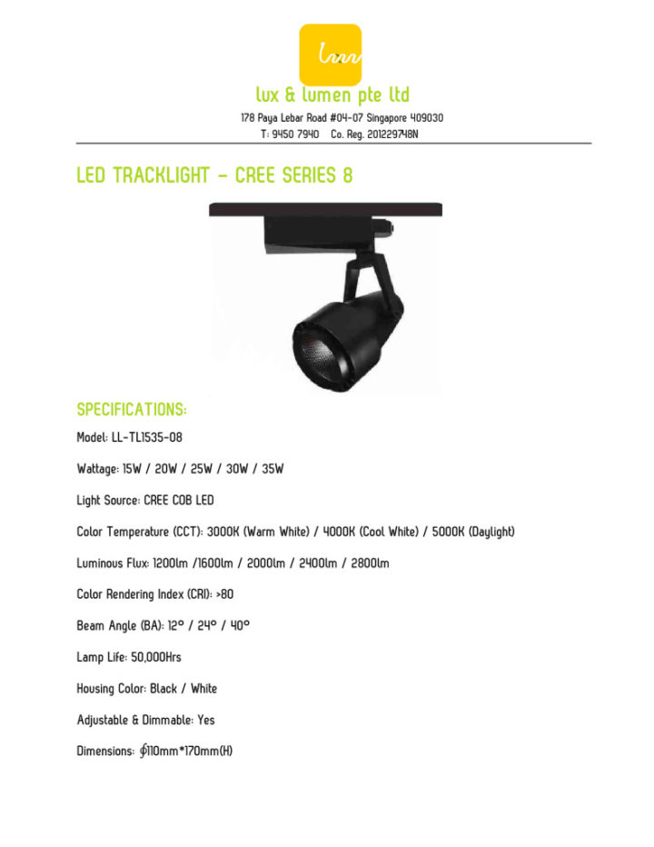 thumbnail of Star Series 2 – 15W to 35W LED Track Light